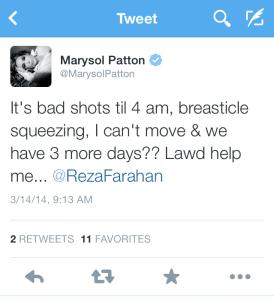 Marysol Tweet