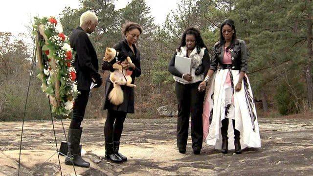 kenya moore-velvet funeral