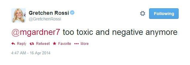 tweet gretch too toxic
