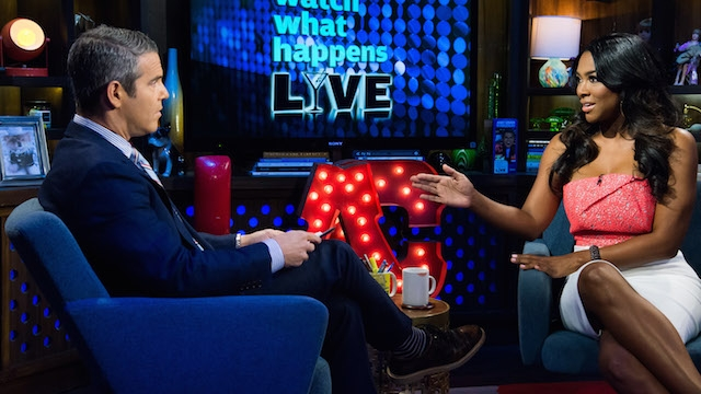 kenya moore and andy cohen