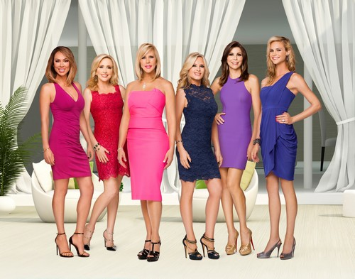 THE REAL HOUSEWIVES OF ORANGE COUNTY -- Season:11 -- Pictured: (l-r) Kelly Dodd, Shannon Beador, Vicki Gunvalson, Tamra Barney, Heather Dubrow, Meghan King Edmonds -- (Photo by: Paul Drinkwater/ Chris Haston/Bravo)