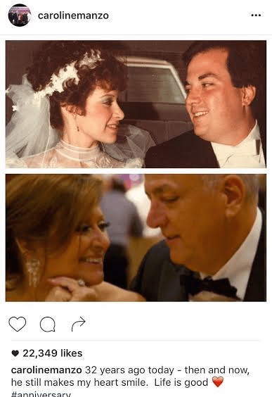 Image Source: Instagram - Caroline Manzo