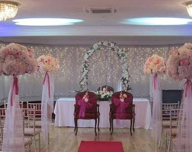Ceremony & Venue Decor at Fitzgeralds Woodlands Hotel, Adare, Co. Limerick