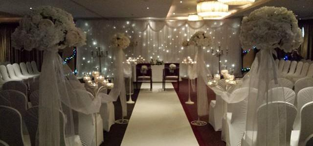 Ceremony Decor at The Westgrove Hotel, Clane by All About Weddings