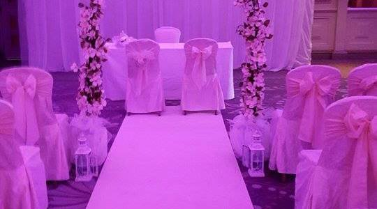 Ceremony Decor at The Slieve Russell Hotel