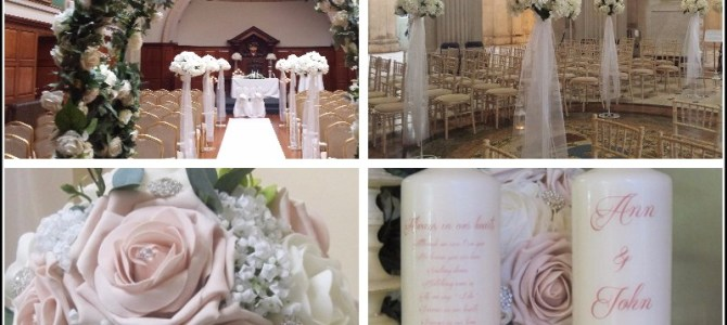 ALL DAY PACKAGE, PALE PINK – €1,200 All About Weddings