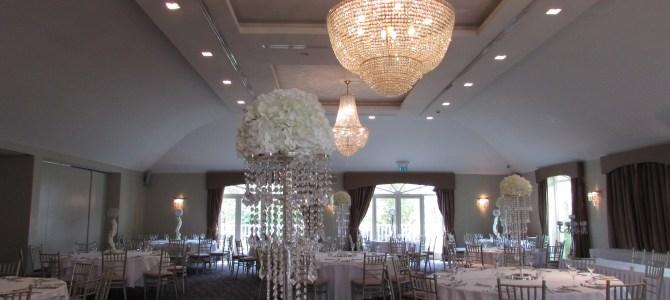 Venue Styling at Tulfarris Hotel