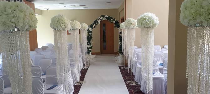 Ceremony Decor at the Woodenbridge Hotel & Lodge
