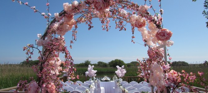 Ceremony Decor at The Arklow Bay Hotel by All About Weddings