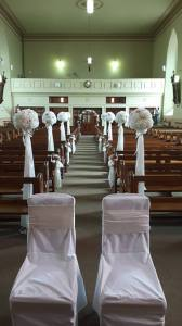 Ceremony Decor at St Abbans in Adamstown, Wexford