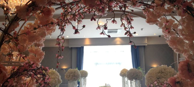Ceremony Decor & Venue Styling at the Arklow Bay Hotel