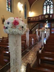 Ceremony Decor at Drangan Church, Thurles Co. Tipperary