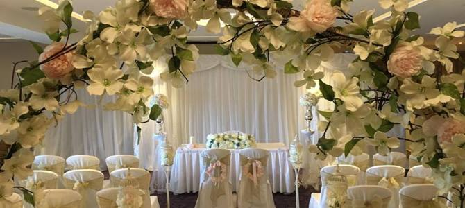 Ceremony Decor at Hotel Kilkenny