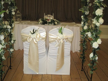 Wedding Decor at The Park View Hotel Newtownmountkennedy