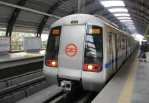 A file photo of Delhi Metro