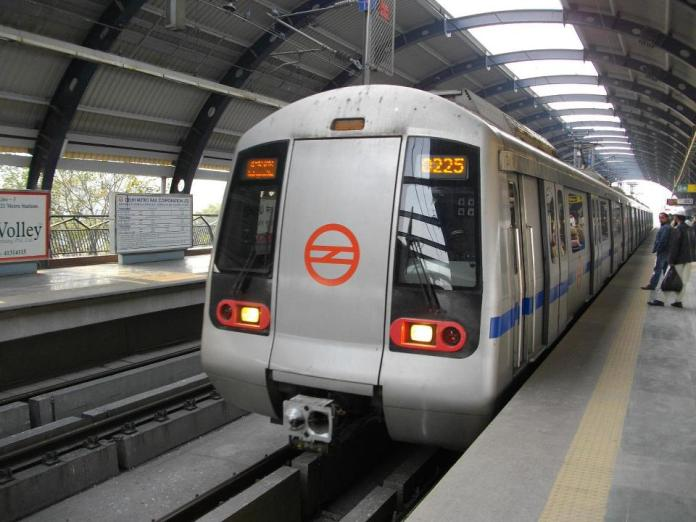 A file photo of Delhi Metro