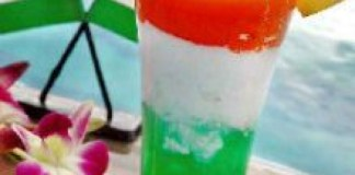 Tricolor Mocktail by Bellagio