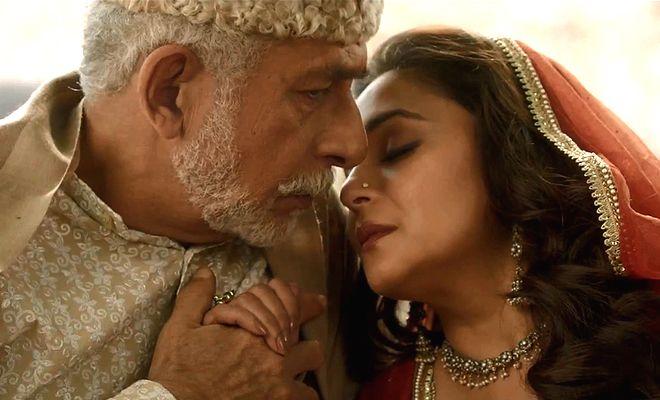 Madhuri-Naseeruddin in Dedh Ishqiya