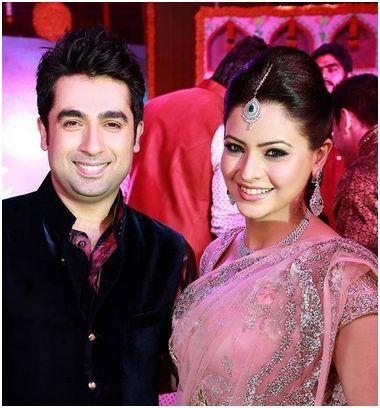 Aamna Shariff with Amit Kapoor