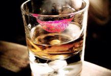 A shot of brandy