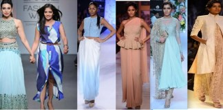 L-R Collections by Arpita Mehta, Anita Dongre, Shantanu & Nikhil, Shyamal & Bhumika, Manish Malhotra