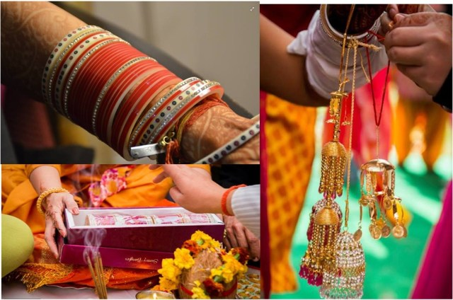 Punjabi wedding rituals chooda and kalire