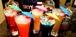 Manage drinks at your house party
