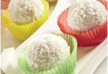 Coconut ladoo/pinterest