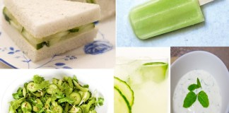 Cucumber recipes