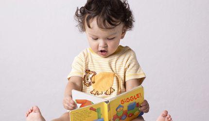 Reading in toddler