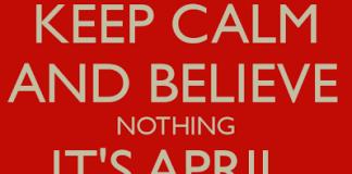 Happy April Fool day