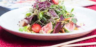 Micro cress salad