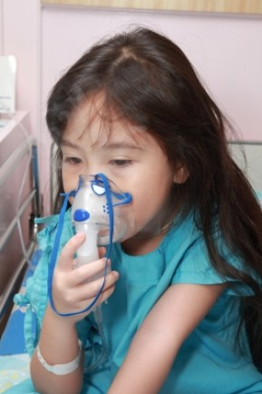 Kid having breathing problem
