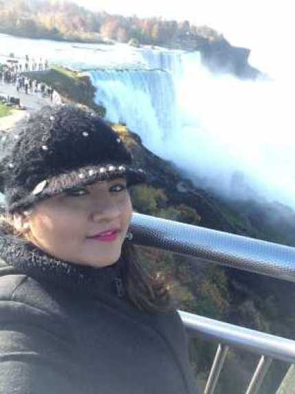 Selfie with Niagara Falls