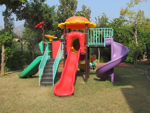 Kids area at Aahana