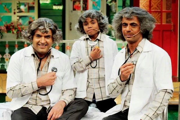 Kapil Sharma with Sunil Grover/twitter
