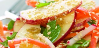 Sesame Apple Salad