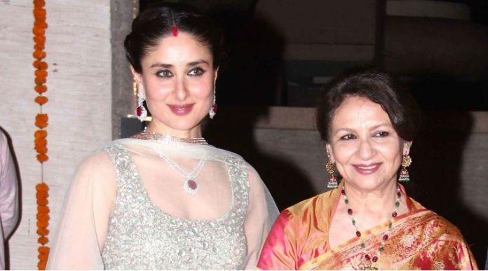 Kareena with Sharmila