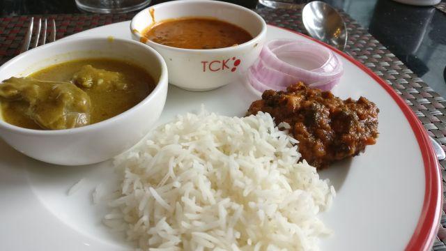 Lunch scenes at TCK, Radisson Noida