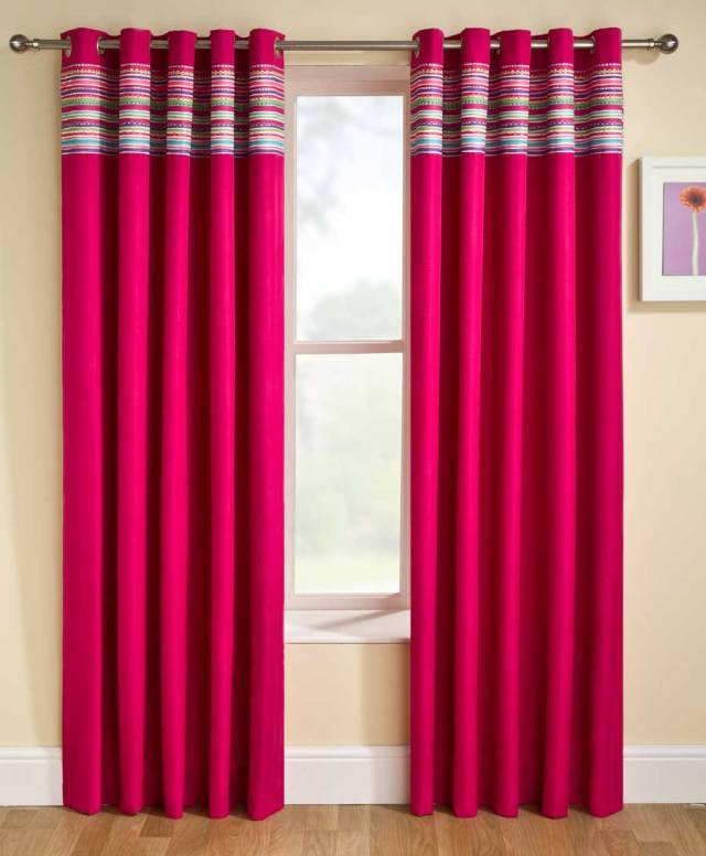 stylish bedroom curtains