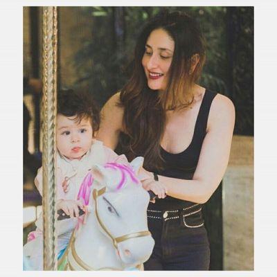 Kareena and baby Taimur
