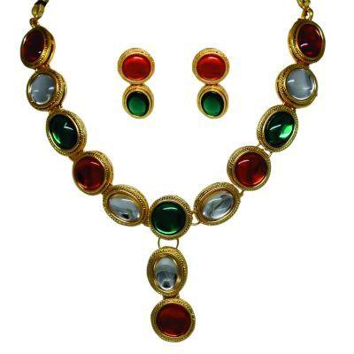 Glamorous Tiranga Necklace