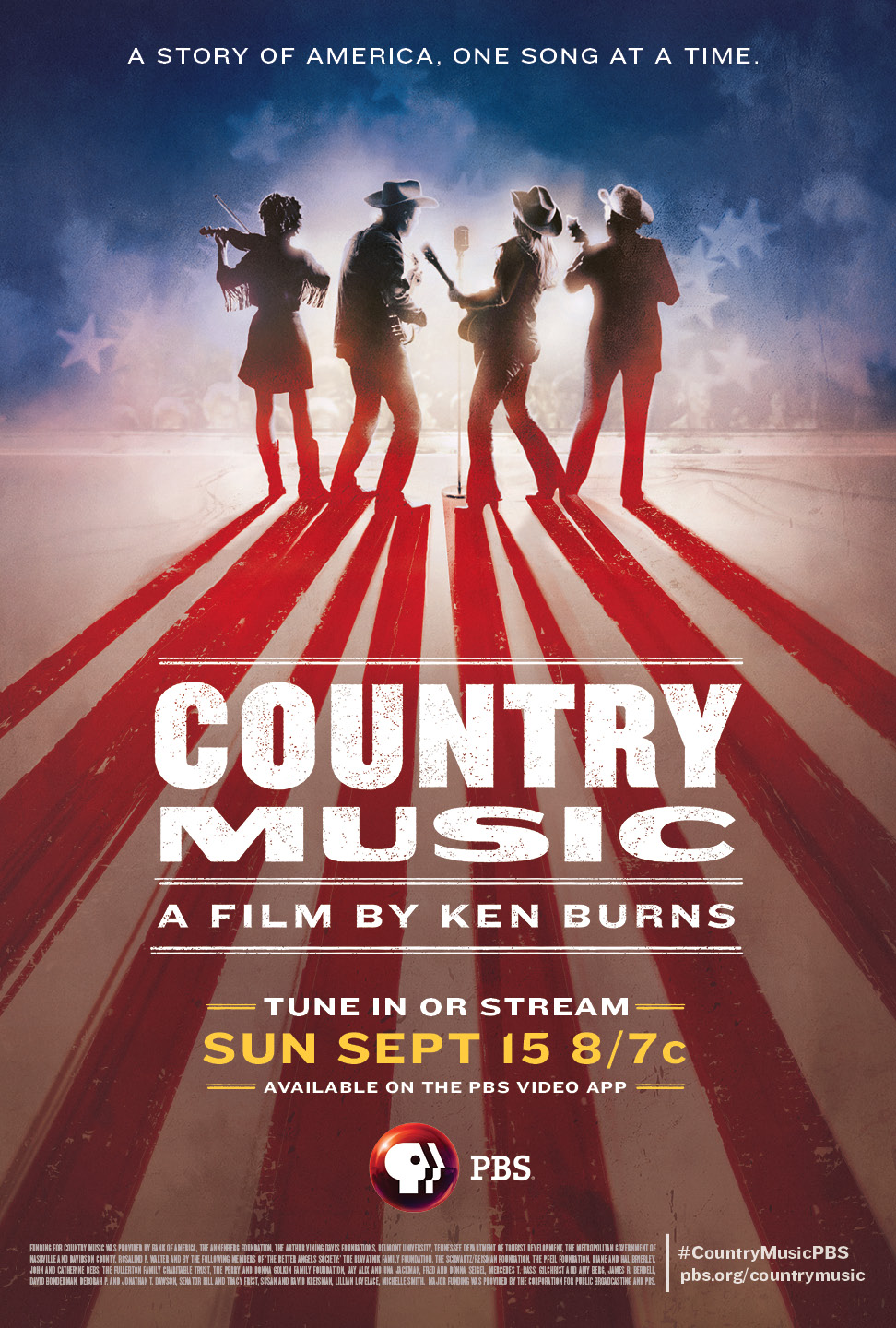 PBS-TV. Ryman Auditorium To Host 'Country Music: Live At The Ryman. A Concert ...