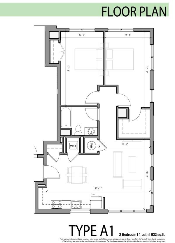 Edges Apartments Floor Plan