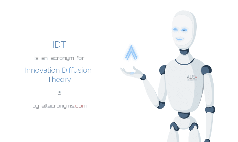 IDT abbreviation stands for Innovation Diffusion Theory