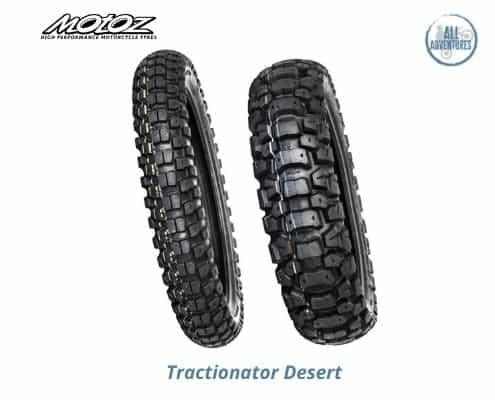 Tractionator desert anteriore e posteriore