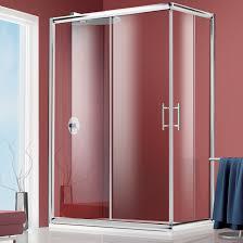 BOX DOCCIA 80X120 CROMO TRASPARENTE CRISTALLO 6MM
