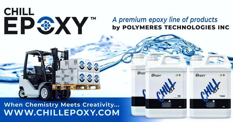 1. 1 Chill Epoxy. Advertising. 1