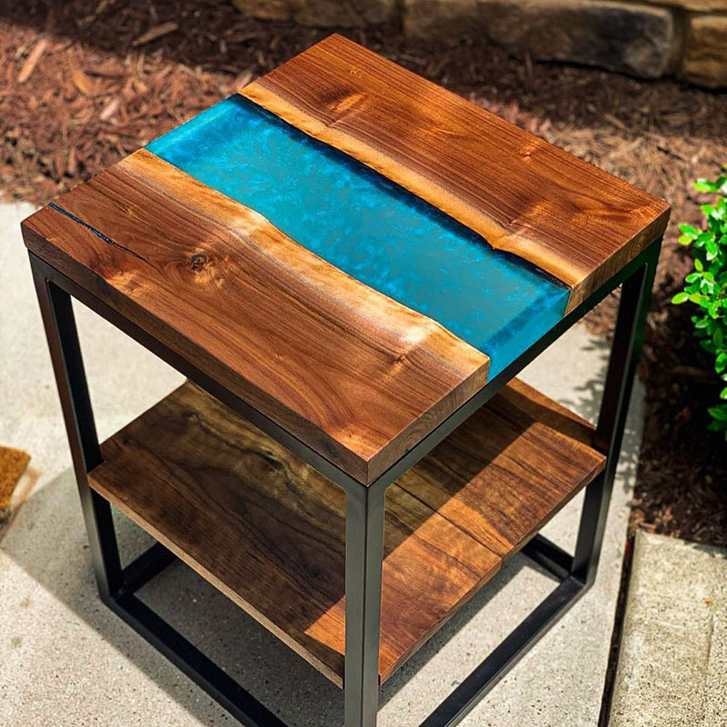 Chill Ice River Table. Polymeres
