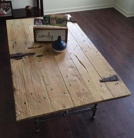 Barn Door Table 3